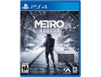 $40 off Metro Exodus Day One Edition - PlayStation 4