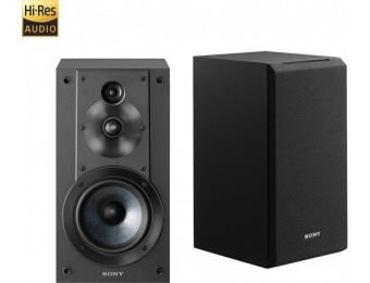"$145 off Sony Core Series 5"" 3-Way Bookshelf Speakers (Pair)"