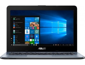 "$90 off ASUS 14"" Laptop - AMD A6, 4GB, Radeon R5, 500GB"