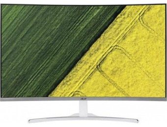 "$100 off Acer 31.5"" LCD Curved FHD Monitor"