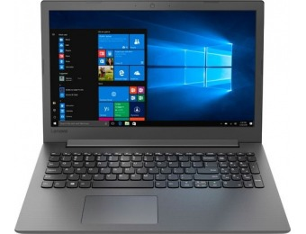 "$120 off Lenovo 130-15AST 15.6"" Laptop - AMD A9, SSD"