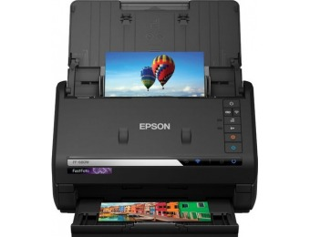 $100 off Epson FastFoto Wireless Photo & Document Duplex Scanner