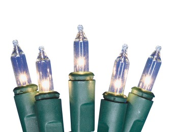 $2 off 100-Count Incandescent Christmas Lights, Several Styles