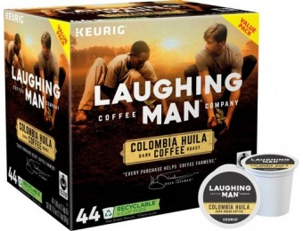 31% off Laughing Man Colombia Huila K-Cup Pods (44-Pack)