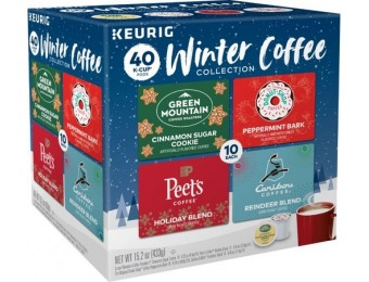 31% off Green Mountain Coffee Winter Variety Pack K-Cup (40-Pack)