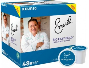 31% off Emeril's Big Easy Bold K-Cups (48-Pack)
