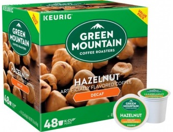 31% off Green Mountain Coffee Decaf Hazelnut K-Cup Pods (48-Pk)
