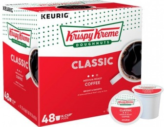 31% off Krispy Kreme Classic Medium Roast K-Cup Pods (48-Pk)