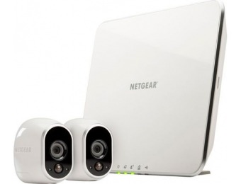 $250 off NETGEAR Arlo Smart Home Wireless HD IP Security Cameras