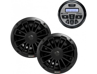 $210 off MB Quart Marine Receiver w/ Bluetooth + Pair of Speakers