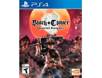 50% off Black Clover: Quartet Knights - PlayStation 4