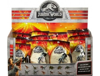 57% off Jurassic World - Mini Dino Action Figure