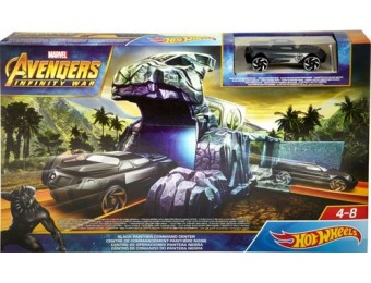 55% off Marvel Avengers Hot Wheels Track Set