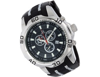 $385 off Joshua & Sons Swiss Chronograph Men's Sport Watch