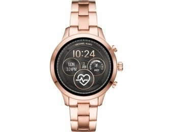 $151 off Michael Kors Access Runway Smartwatch - Rose Gold