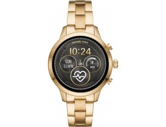 $151 off Michael Kors Access Runway Smartwatch - Gold