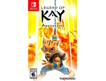 67% off Legend of Kay Anniversary - Nintendo Switch