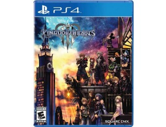 $20 off Kingdom Hearts III - PlayStation 4