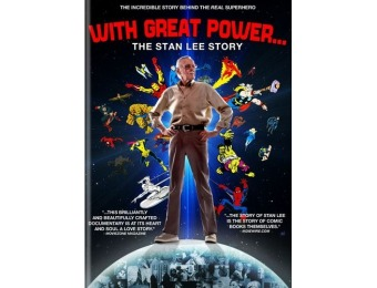 83% off With Great Power: The Stan Lee Story (DVD)