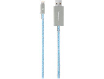 50% off Modal Apple MFi Certified 3' Lighted Lightning Cable - Silver