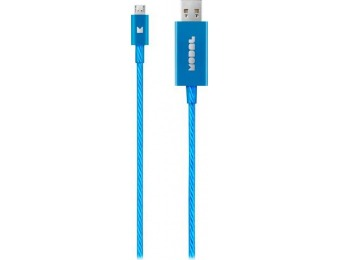 75% off Modal Apple MFi Certified 3' Lighted Lightning Cable - Blue