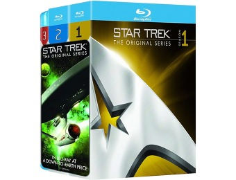 $110 off Star Trek: Complete Original Series (Blu-ray)