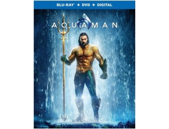 40% off Aquaman (Blu-Ray + DVD + Digital)