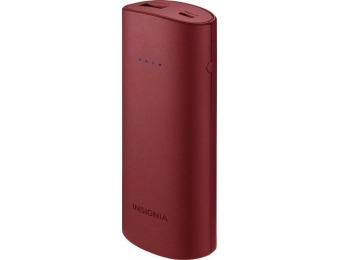 47% off Insignia 5,200 mAh Portable Compact USB Charger