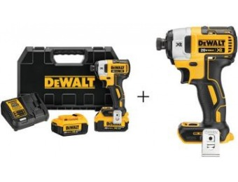 $139 off DeWalt 20V MAX XR Lithium-Ion Brushless Impact Driver