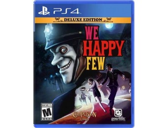 81% off We Happy Few Deluxe Edition - PlayStation 4