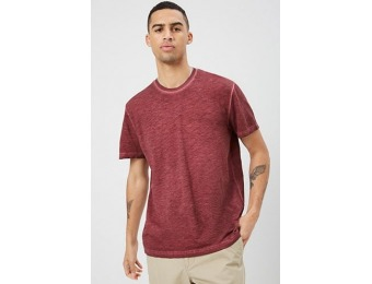 50% off Heathered Oil Wash Tee