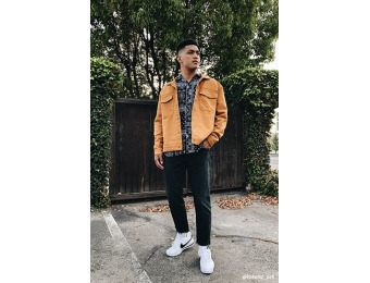 50% off Snap-Button Woven Jacket