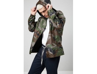 50% off Camo Print Windbreaker