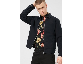 50% off Zippered Denim Jacket