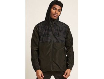 50% off Camo Zip-Front Jacket