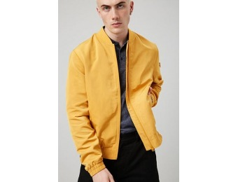 50% off Zip-Front Bomber Jacket