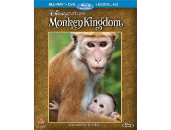 52% off Disneynature: Monkey Kingdom (Blu-ray/DVD)