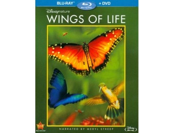 48% off Disneynature: Wings of Life (Blu-ray/DVD)
