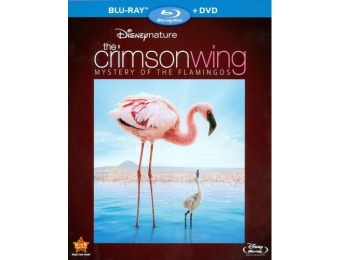 55% off Disneynature: The Crimson Wing (Blu-ray/DVD)