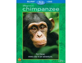 48% off Disneynature Chimpanzee (Blu-ray/DVD)