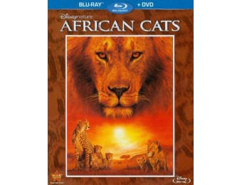 48% off Disneynature: African Cats (Blu-ray/DVD)