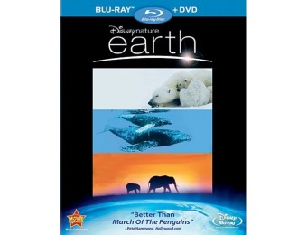 48% off Earth (Blu-ray/DVD)