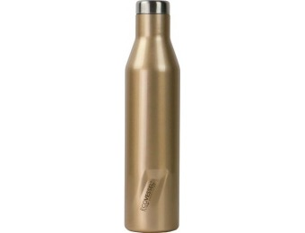 50% off EcoVessel ASPEN 25-Oz Wine & Water Bottle - Gold Dust