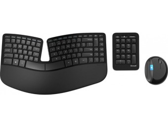 $60 off Microsoft Sculpt Ergonomic Desktop Wireless Keyboard & Mouse