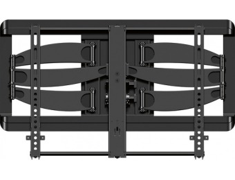 "$150 off Sanus Premium Full-Motion TV Wall Mount for Most 42"" - 90"""