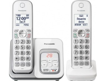 58% off Panasonic DECT 6.0 Expandable Cordless Phone System