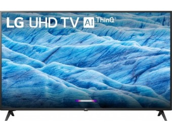 "$200 off LG 43"" LED UM7300PUA 2160p Smart 4K UHD TV with HDR"