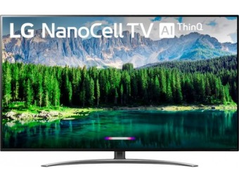 "$600 off LG 65"" LED Nano 8 Series 2160p Smart 4K UHD TV with HDR"