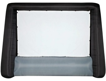 $50 off Gemmy 10' Inflatable Widescreen Movie Screen