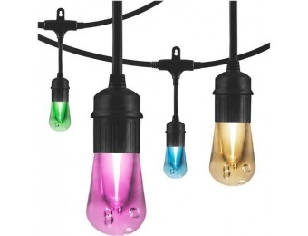 $58 off Enbrighten Café Seasons LED Color-Changing Lights (24 feet)